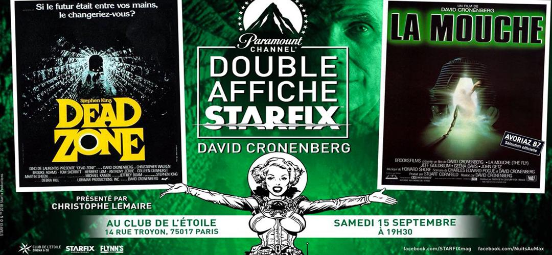 Soirées DOUBLE AFFICHE STARFIX arrivent au cinéma Le Club de l